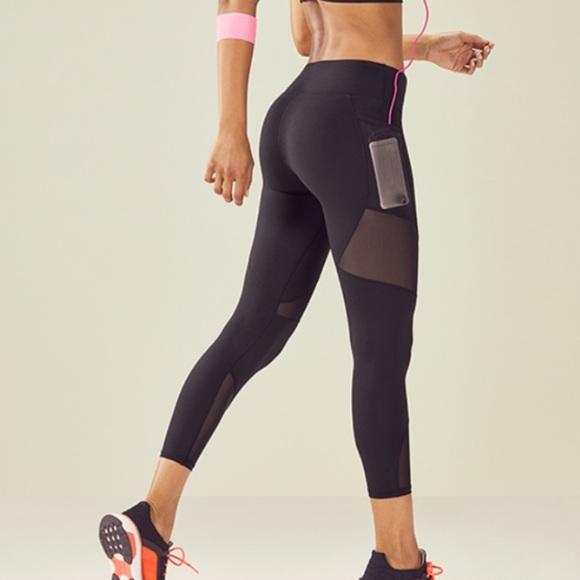 5cf9b5987f914 Fabletics Pants | Nwt 78 Leggings Mesh Cutouts Pockets | Poshmark